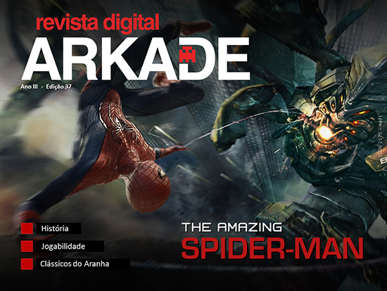 c37 Revista Arkade #37   The Amazing Spider Man   Novo formato!