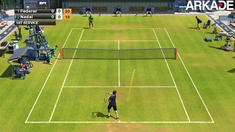 Mini-Review: Virtua Tennis 2009 - X360, PS3, Wii