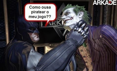 Santa pirataria Batman!