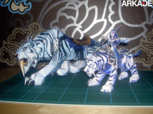 Saber papercraft 310x232 Incríveis papercrafts de World of Warcraft