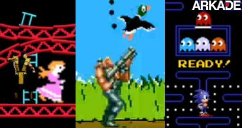 Vídeos mostram mashups de diversas séries de videogame