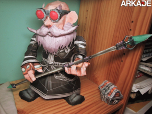 World of Papercraft by maddra papercraft 310x232 Incríveis papercrafts de World of Warcraft