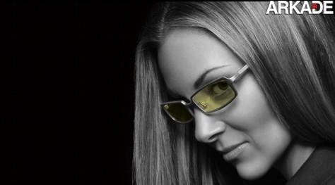 Óculos feitos para jogar videogame