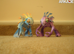 papercraft creatures 310x229 Incríveis papercrafts de World of Warcraft