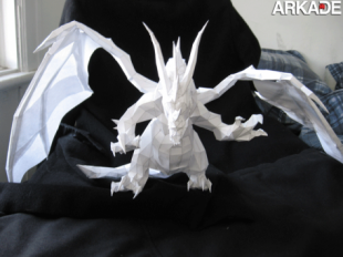 papercraft dragon world of warcraft 310x232 Incríveis papercrafts de World of Warcraft