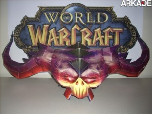 papercraft gamer 310x232 Incríveis papercrafts de World of Warcraft
