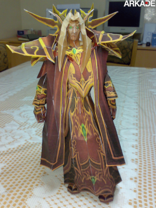 papercraft world of warcraft 310x413 Incríveis papercrafts de World of Warcraft