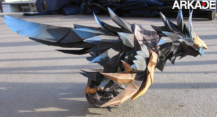 papercraft world of warcraft anzu 310x168 Incríveis papercrafts de World of Warcraft
