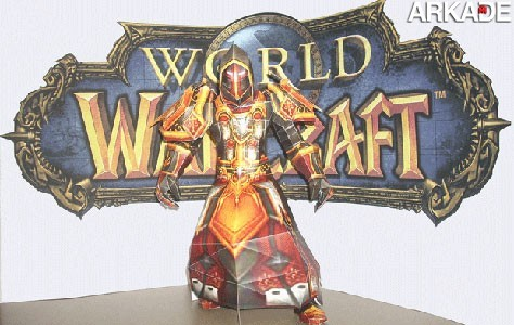 papercraft world of warcraft images Incríveis papercrafts de World of Warcraft