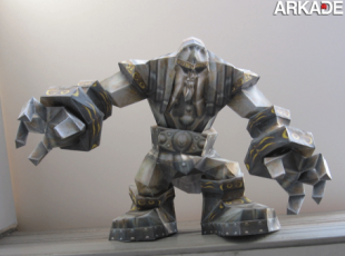 papercraft world of warcraft paper 310x230 Incríveis papercrafts de World of Warcraft
