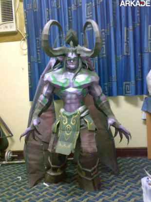 wow demon papercraft1 310x413 Incríveis papercrafts de World of Warcraft