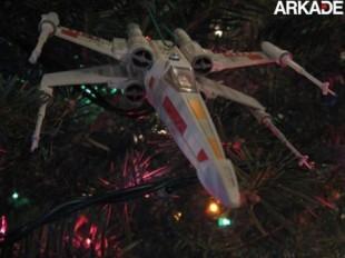 Enfeite sua árvore com um X-Wing, de Star Wars
