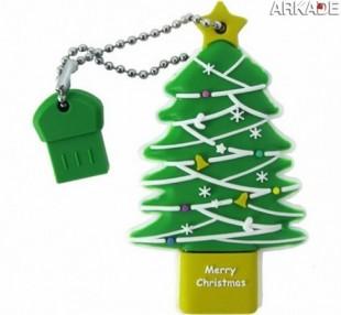 Árvores e Enfeites de Natal geeks