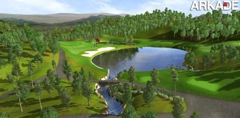 Simulador de golfe simula relevo do campo e trajetória da bola