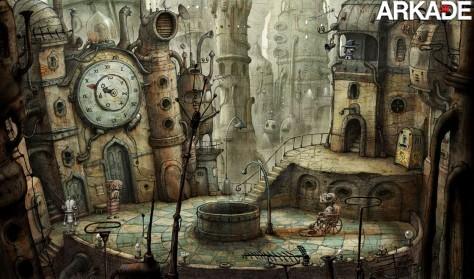 Trailer do jogo independente Machinarium.