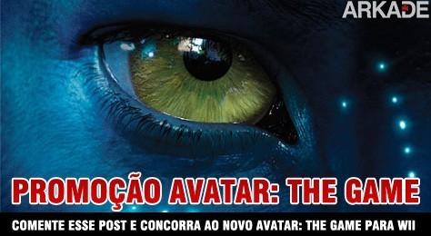 Promoção: Ganhe o jogo Avatar The Game para Nintendo Wii