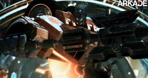 Lançado o primeiro trailer do novo game dos Transformers