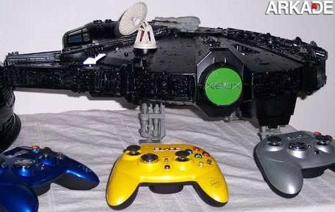Casemod transforma Xbox 360 em Millenium Falcon, de Star Wars