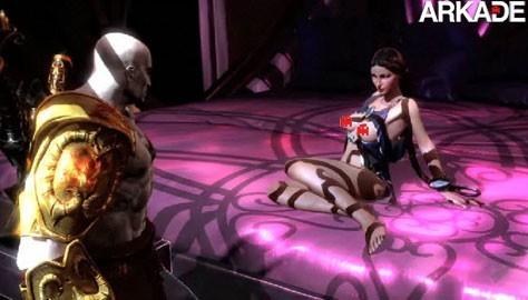 Vídeo do mini-game de sexo de God of War III