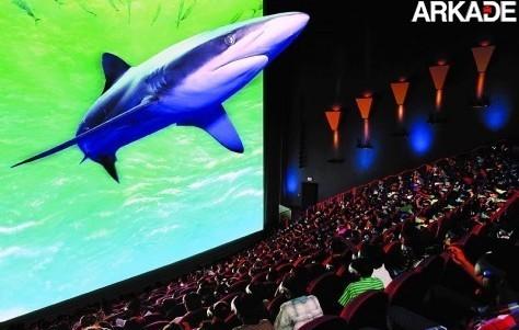 imax shark big1 O retorno da tecnologia 3D