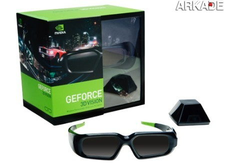nvidia 3d vision1 O retorno da tecnologia 3D