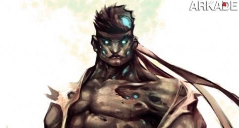 E se os lutadores de Street Fighter virassem zumbis?