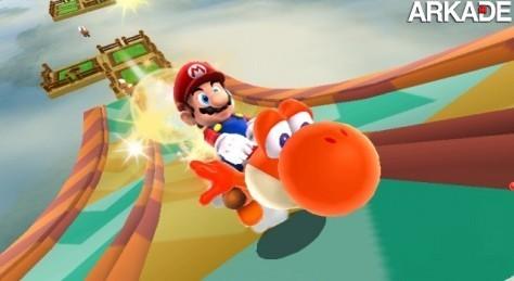 Mario Galaxy 2 terá controles acessíveis e dificuldade alta