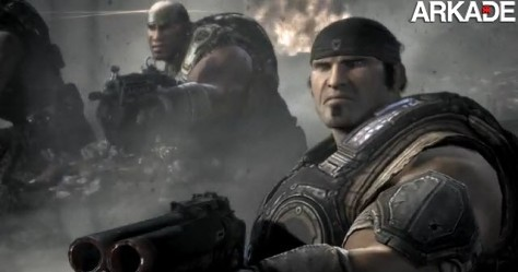Gears of War 3 ganha o seu primeiro trailer