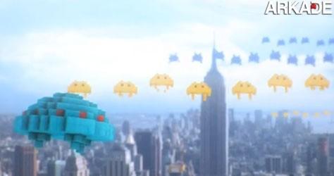 Como seria se o mundo fosse dominado por pixels?