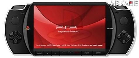 Seria este o novo lançamento da Sony, o PSP 2?