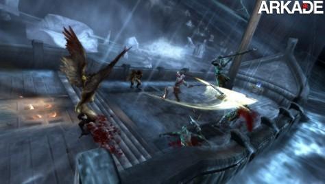 God of War: Ghost of Sparta ganha seu primeiro trailer