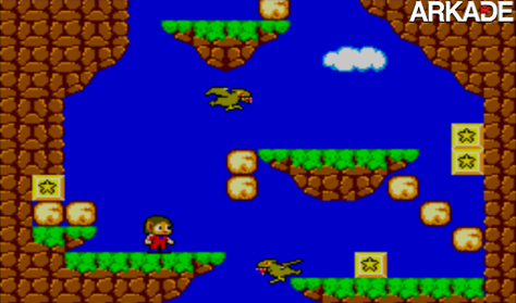 alex kidd in miracle world cena1 Retrô: Lembra de Alex Kidd in Miracle World, do Master System?