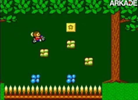 alex kidd miracle world fase da floresta11 Retrô: Lembra de Alex Kidd in Miracle World, do Master System?