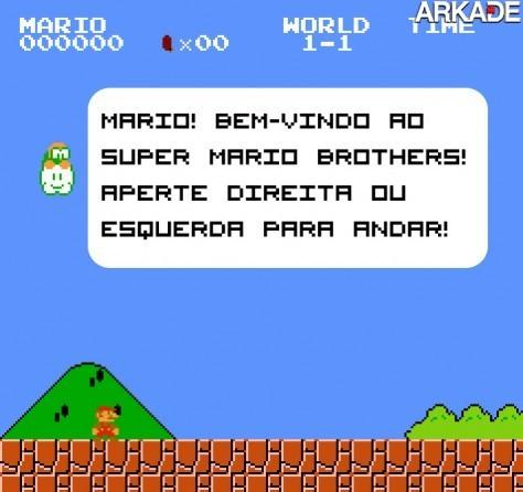 Como seria se Super Mario Bros. fosse feito hoje em dia?