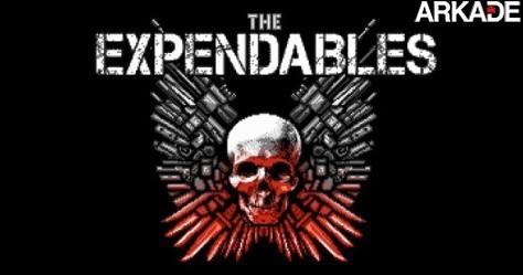 178805 expendables1 Jogue um game 8 bits inspirado no filme Os Mercenários