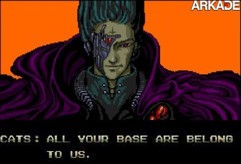 allyourbase1 Arkade apresenta: frases inesquecíveis da história dos videogames