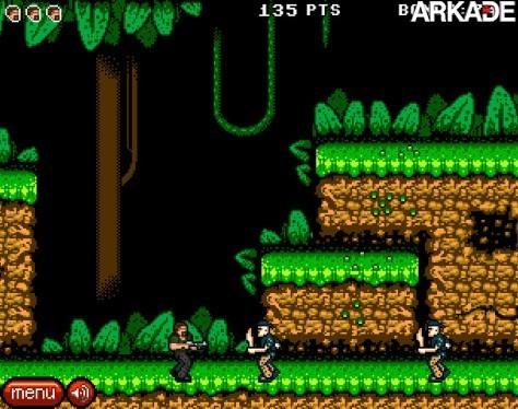 expendables02 Jogue um game 8 bits inspirado no filme Os Mercenários