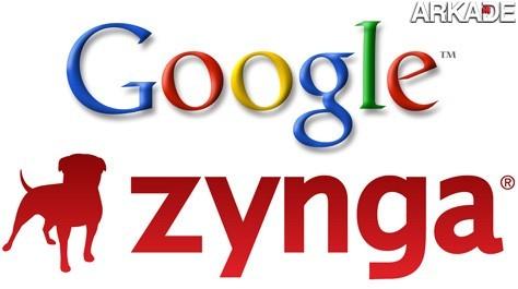 Google investe milhões na Zynga e prepara o Google Games