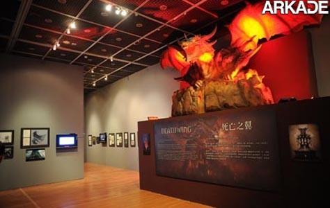 Blizzard faz exposição de artworks na China