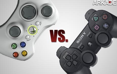 controllers vs Análise de controllers: PS3 vs X360   qual é melhor?