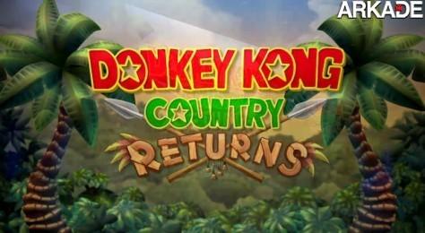 Donkey Kong Country Returns ganha um novo vídeo de gameplay