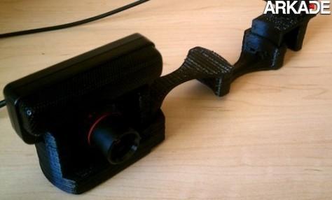 Crie modelos 3D utilizando o PlayStation Eye