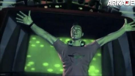 DJ lança primeiro videoclipe feito com imagens de game