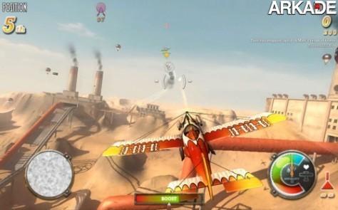 DogFighter (PC) mistura aviões, Mario Kart e Team Fortress 2
