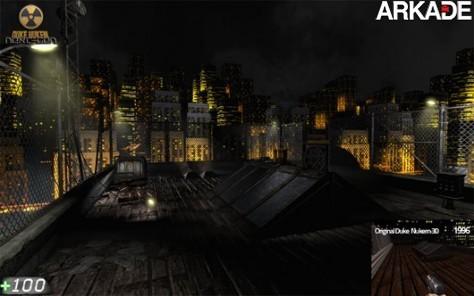 Game de Duke Nukem feito por fã recebe aprovação da Gearbox