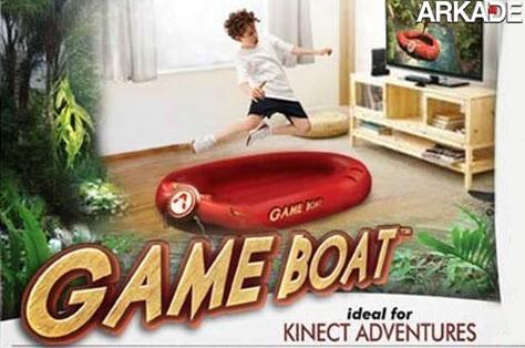 Game Boat - um inútil periférico para o Microsoft Kinect