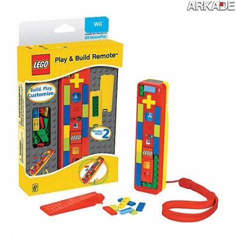 Lego lança Wii Remote funcional, colorido e customizável