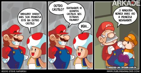Tirinha: as historinhas infantis do Vovô Mario