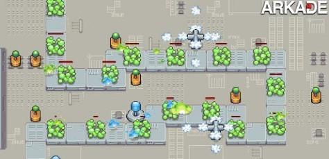Jogos em Flash: defenda um PC de vírus em PC Defense