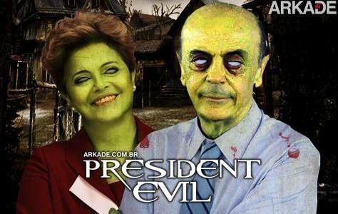 Bomba! Dilma e Serra vão estrelar game inédito da Capcom!